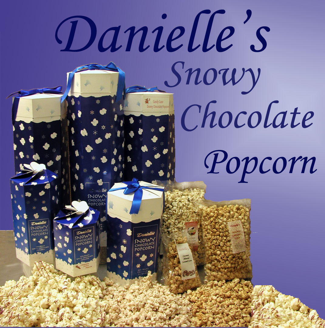 Danielle's Snowy Popcorn Collage for Sam's Club